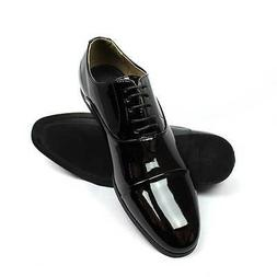 Mens Dress Tuxedo / Formal Shoes Cap Toe Patent Leather Lace