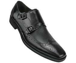 Men's Dress Shoes, Rich Genuine Buffalo Cow Leather, Formal