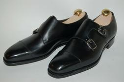 Mens Genuine Leather Dress Shoes Oxfords Buckle Casual Forma
