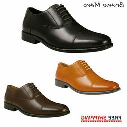 Bruno Marc Mens Leather Dress Shoes Formal Classic Lace-up B