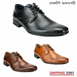 Bruno Marc Men's New Dress Shoes Snipe Toe Lace Up Oxfords L