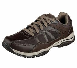 Skechers Mens Relaxed Fit Rovato Solove Oxford Shoes Casual/