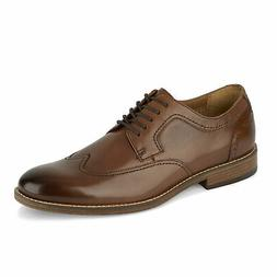 Dockers Mens Ryland Leather Dress Rubber Sole Lace-up Wingti