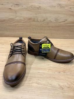 Skechers men's Shoes LACE UP size 10.5 brown tan Street dr