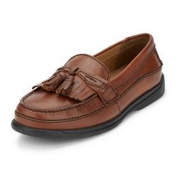 Dockers Mens Sinclair Leather Dress Casual Tassel Slip-on Co