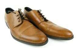 Stacy Adams Mens Size 15 Radford Oxford Brown Leather Dress