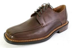 Skechers Mens Size 8 Dress Shoes Oxfords Dark Brown Leather