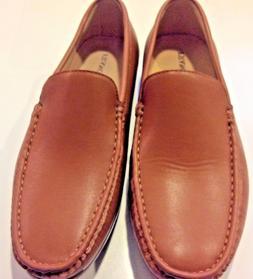 Franco Vanucci Mens Slip-On Dress Shoes: Tan/ Men's size 8