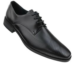 Amali Mens Smooth Burnished Lace Up w/ Perforated Tip : Styl