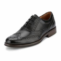 Dockers Mens Thatcher Polished Business Dress Wingtip Lace-u