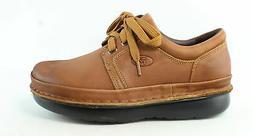 Propet Mens Villager Cognac Oxford Dress Shoe Size 15