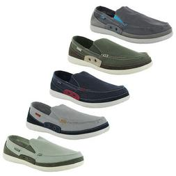 Crocs Mens Walu Accent Slip On Loafer Shoes