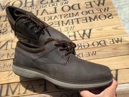 Merrell Mens World Vue Lace Black Slate Oxford Dress Shoe Si