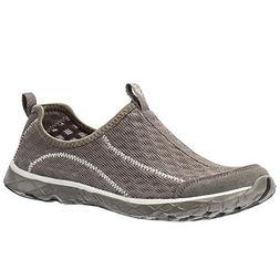 ALEADER Men's Mesh Slip On Water Shoes White/Gray 11 D US