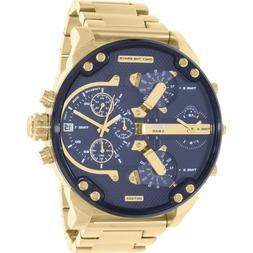 Diesel Men's Mr. Daddy DZ7333 Gold Stainless-Steel Quartz Wa