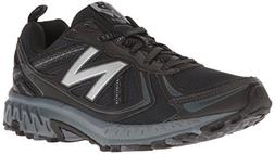 New Balance Men's MT410v5 Cushioning Trail Running Shoe, Bla