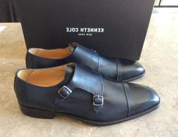 Kenneth Cole Navy Buckle Dress Shoes Size 11,5 New