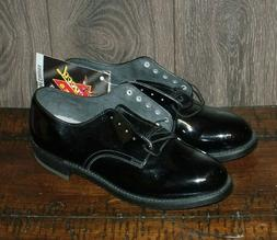 NEW Thorogood 1491 Patent Leather Oxford Dress Shoes SIZE 9