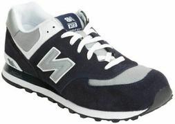 New Balance Men's Classic 574 M574BGS Navy Blue/Grey Running