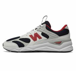 New Balance Men's X-90 Reconstructed Shoes White With Navy &