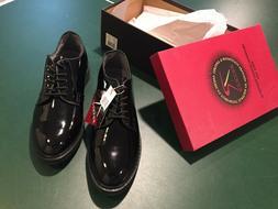 NEW Rothco Black Dress Uniform Shoes 11R 5055 High Gloss Oxf