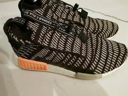 New ADIDAS Boost NMD_TS1 Primeknit GTX Shoes Black Sesame Ye