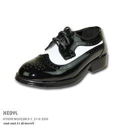 JEAN YVES New Boy Dress Shoe JY03KID Wing Tip Two Tone Tuxed