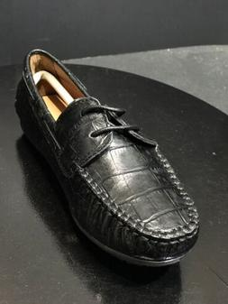 New Venettini Boys Masonc Dress Casual Leather Loafers Black