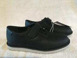 New Cat & Jack Black Boys Dress Shoes Size 12 Wedding shoes