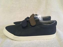 New Cat & Jack Navy Blue Boys Dress / Casual Shoes Size 12 u