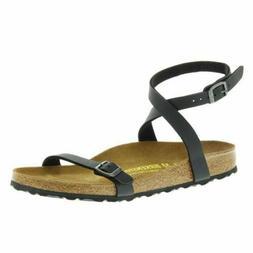Birkenstock New Daloa Black Birko-Flor Womens Sandals