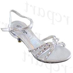 New girl kids buckle closure dress shoes open toe special oc
