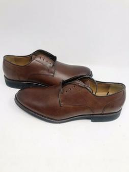 NEW Johnston Murphy Derby Dress Shoes Mens SZ 12 Brown Leath
