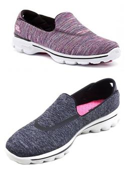 New Skechers Ladies Go Walk shoes Women's Slip on GoGa Mat T