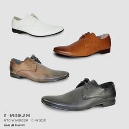 BRAVO New Men Dress Shoes KLEIN-1 Oxford Fashion with Round