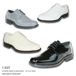 VANGELO New Men Dress Shoes TUX-1 Tuxedo For Formal Wedding