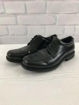 NEW Men's Rockport AdiPrene by Adidas Apron Toe Black Leathe