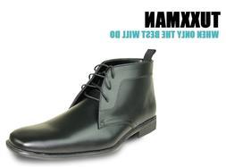 New Men's Allure Black Dress Boots All Sizes TUXXMAN