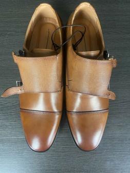new men s leather cap toe double