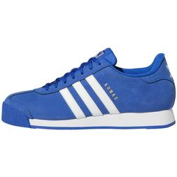 New Adidas Men's Originals Samoa Leather Shoes   Team Royal