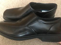 New Mens Black Nunn Bush Slide On Dress Shoes Size 8.5