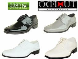 New Mens Dress Shoes Formal Wedding Prom Groomsmen Tuxedos A