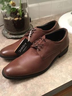 New Vionic Mens Joseph Oxford Brown Dress Shoes Size 11