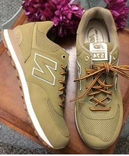 New Mens New Balance 574 Outdoor Sneakers Tan Size 10.5