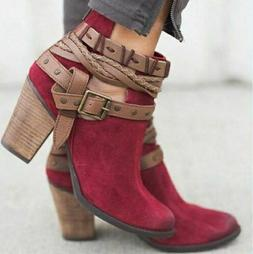 NEW Shoes Ankle Boots Women For Dress Casual Fashion Elegant