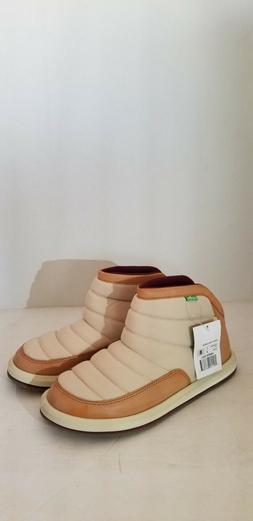 NEW STYLE SANUK WOMEN'S PUFF N CHILL MALIA ANKLE BOOTS SIZE