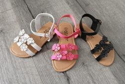 New Summer Girls Toddler Flower Sandals Shoes Wedding Dress