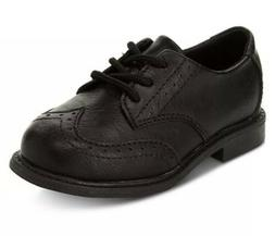 New Toddler Boys Black Dress Shoes Size 8 Style: Henry - Hol