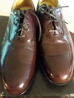 New Vintage Nunn Bush 9 M Brown ? Burgundy Leather Dress Sho
