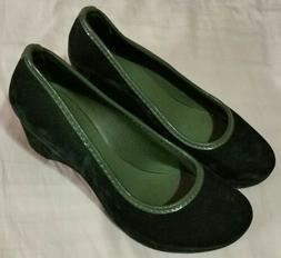 NEW! Women's Crocs Lina Luxe Size 6 Wedge Heel Dress Shoes S
